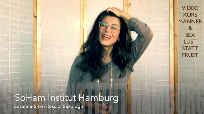 Webinar - Online-Kurs: Männer & Sex - SoHam Institut Hamburg